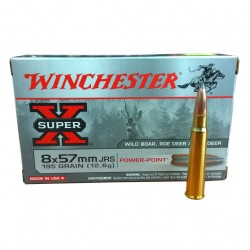 Winchester 8x57JRS Power Point 195gr