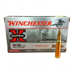 Winchester 308W Power Point 180gr