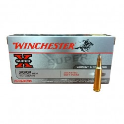 Winchester 222 Rem Soft Point 50gr