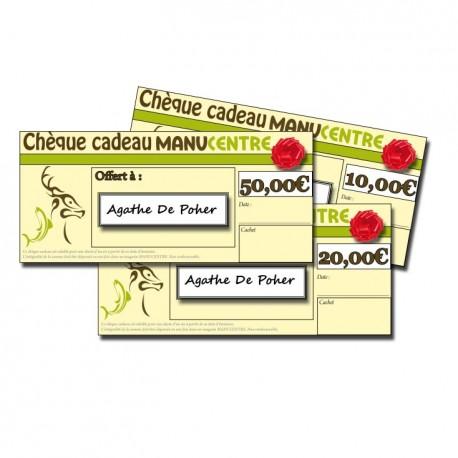 Chèque Cadeau magasin
