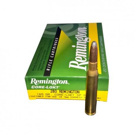 Remington 280R core lock 165gr