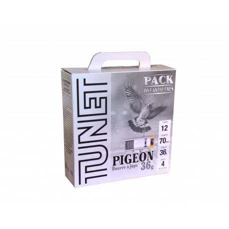 Pack 100 Cartouches Tunet pigeon